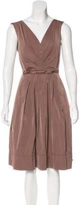 Lida Baday Striped Sleeveless Dress