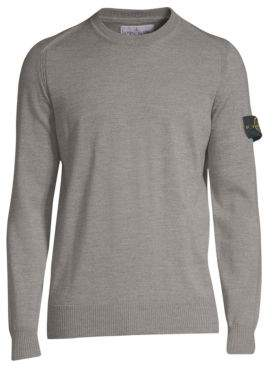 Stone Island Wool Crewneck Sweater