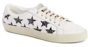Saint Laurent Court Classics Stars Sneaker