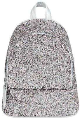 Monsoon Girls' Blue Pic N Mix Glitter Mini Backpack