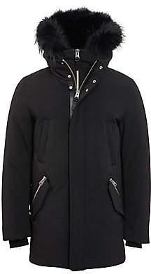 Mackage Men's Edward Nordic Tech Fur-Lined Down Coat