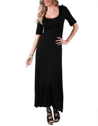 24/7 Comfort Apparel Long Maxi Dress