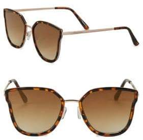 Sam Edelman 55MM Tinted Cat Eye Sunglasses