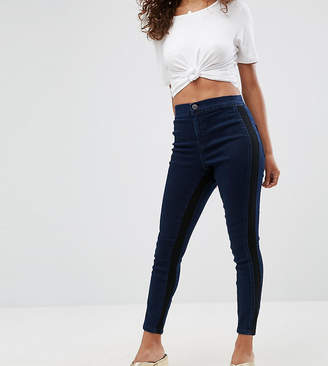 Asos RIVINGTON High Waisted Jegging with Side inserts