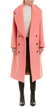 Burberry Walsingham Double-Face Wool Cashmere Coat