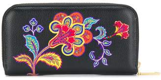 Etro chameleon print wallet