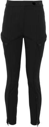 Alexander Wang Cotton-Blend Twill Skinny Pants
