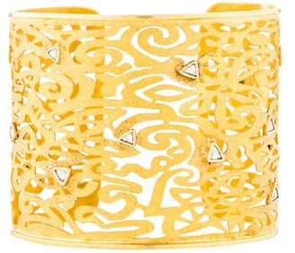 Amrapali 18K Diamond Textured Cuff