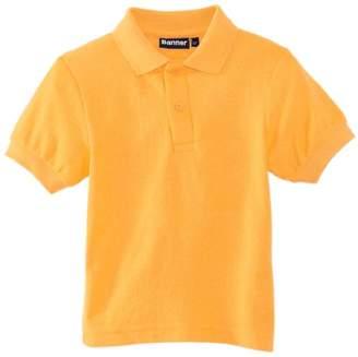 Blue Max Banner Unisex Short Sleeve School Polo Shirt