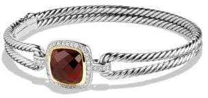 David Yurman Albion® Bracelet With Champagne Citrine, Diamonds And