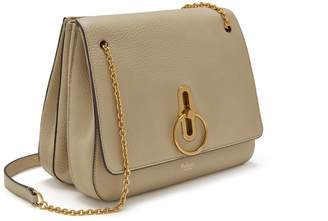 Mulberry Marloes Satchel Light Dune Classic Grainy Calf