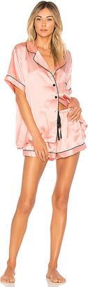 KISSKILL Silk Short Pajama Set