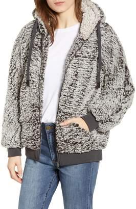 Thread & Supply Stowe Fleece Zip Up Hoodie