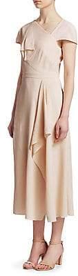 Roland Mouret Women's Ruffle Textured A-Line Dress