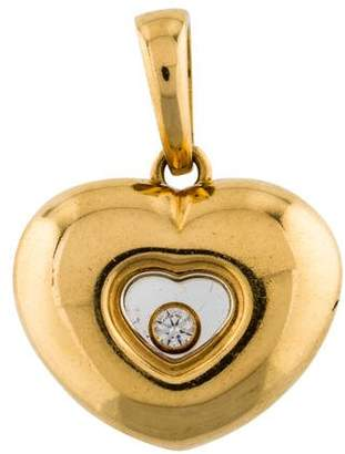 Chopard 18K Happy Diamonds Icons Pendant