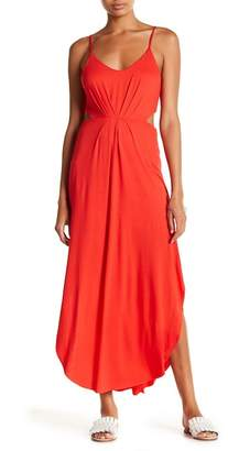 Lush Cutout Knit Maxi Dress