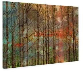 Marmont Hill Through The Trees Painting Print on Wrapped Canvas