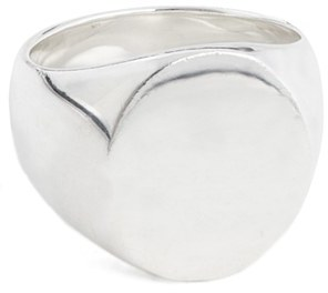 Women's Tom Wood 'Patriot Collection' Oval Signet Ring $333 thestylecure.com