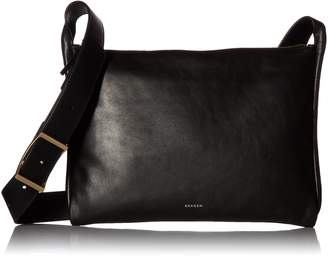 Skagen Anesa Leather Slim Crossbody