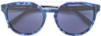 Karl Lagerfeld Bar Cameo sunglasses