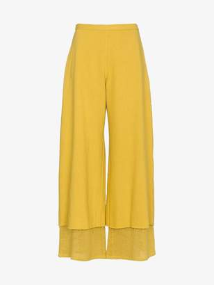 Simon Miller Yellow Yarnell Trousers