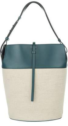 Burberry Large Cotton Linen Bucket Bag