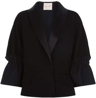 Roksanda Zenitha Gathered Sleeve Jacket