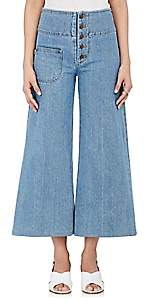 Marc Jacobs Women's Wide-Leg Jeans - Lt. Blue