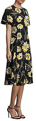 Michael Kors Women's Silk Floral Dress