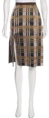 Behnaz Sarafpour Knee-Length Silk Skirt