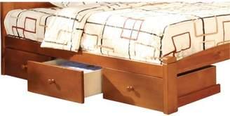 Venetian Worldwide Medina Under-Bed Storage Drawers, Oak, Set of 3