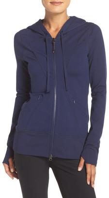 Zella &Hannah& Hooded Jacket $88 thestylecure.com
