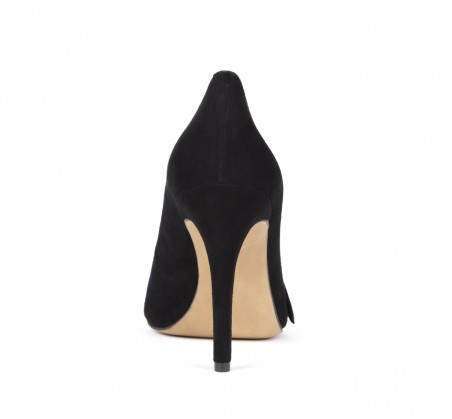 Sole Society Elisa suede bow pump