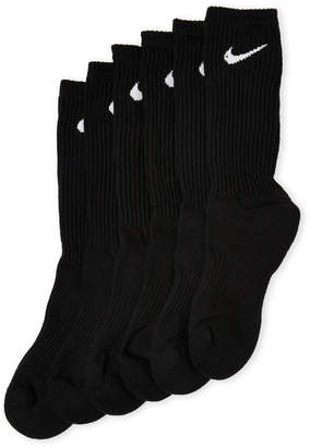 Nike 6-Pack Performance Cotton Cushioned Socks