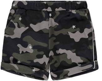 Douuod Sale - Camouflage Sweat Shorts