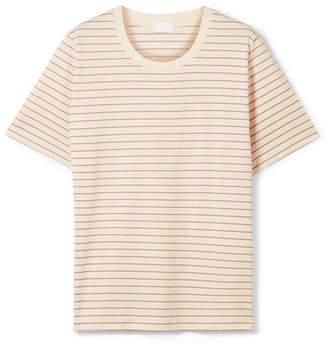 Handvaerk Striped Pima Cotton-jersey T-shirt