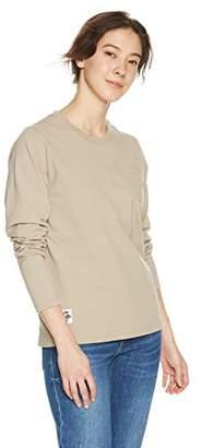 Chums (チャムス) - [チャムス]Utah Pocket Long Sleeve T-Shirt Women's ウィメンズ Beige 日本 M (日本サイズM相当)
