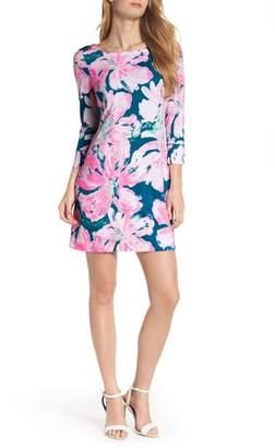 Lilly Pulitzer R) Sophie UPF 50+ Boat Neck Dress