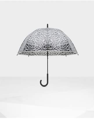Hunter Womens Original Animal Print Bubble Umbrella