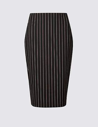 M&S Collection Striped Midi Skirt