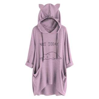 Ladies Hooded Sweatshirt - ShopStyle Canada d96e42dd6d07