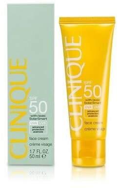 Clinique NEW Sun SPF 50 Face Cream UVA/UVB 50ml Womens Skin Care