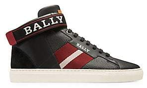 Bally Men's Heros Leather High-Top Sneakers