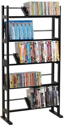 Atlantic Element Shelf 150 DVD Media Rack, Espresso