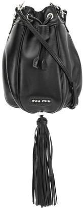 Miu Miu tassel detail bucket bag