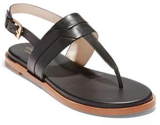 9e818e3ffa0 Cole Haan Black Adjustable Strap Women s Sandals - ShopStyle