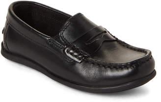 Florsheim Toddler Boys) Black Jerod Penny Loafers