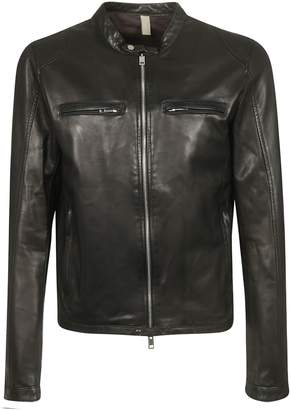 Tagliatore Classic Zipped Biker Jacket
