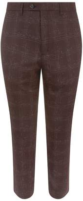 Ted Baker Ddartro Bouclé Check Trousers