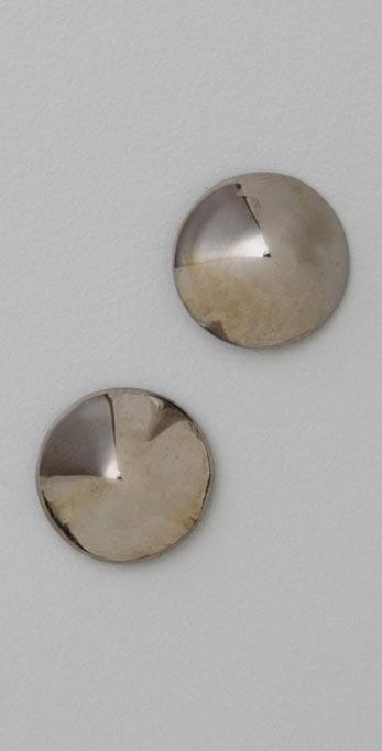 Noir Jewelry Pyramid Stud Earrings